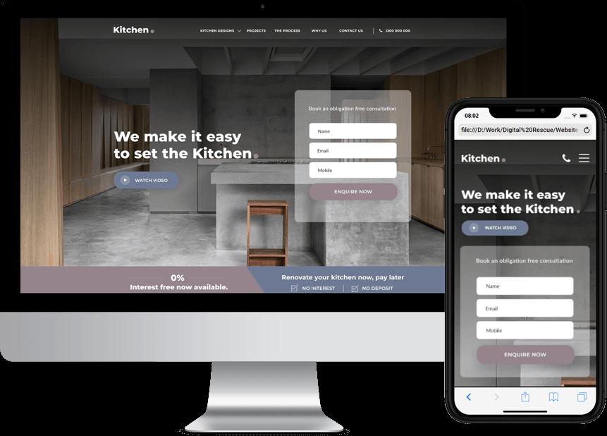 Trade web design